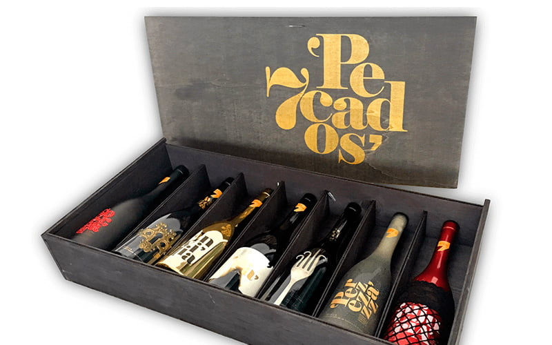 colección vinos 7 pecados